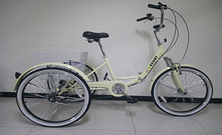 tricycle in Cream