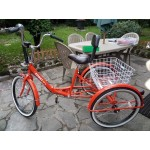 ADULTS TRICYCLE SEAT OR BICYCLE SADDLE WITH BACK REST