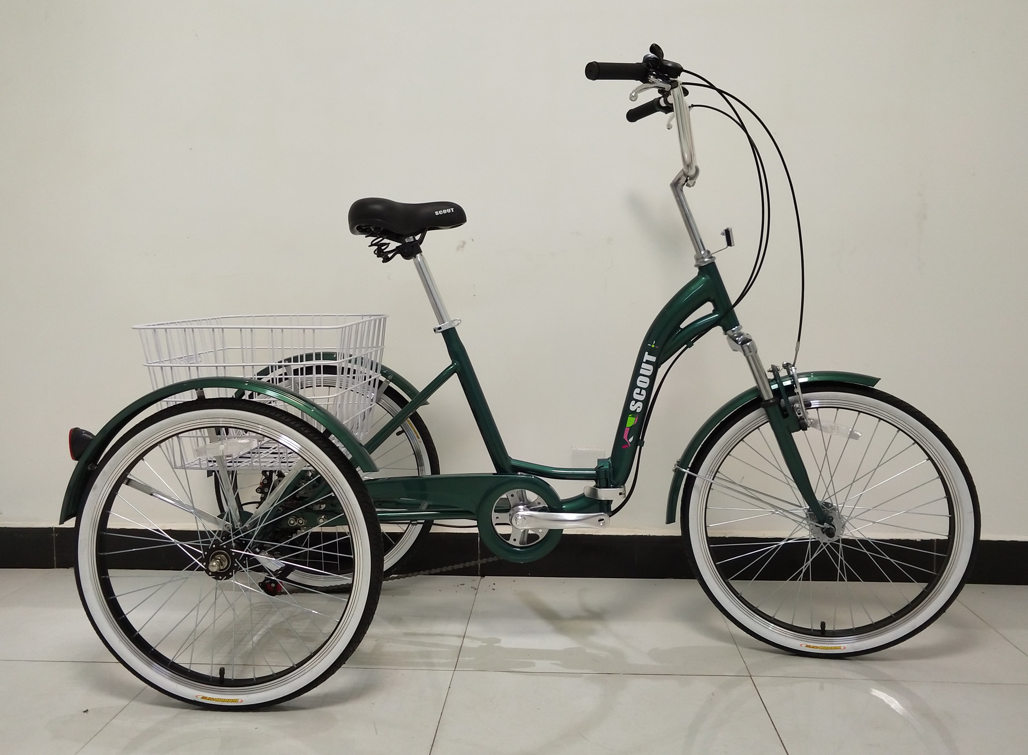 folding tricycle
