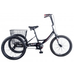 "CONCEPT 2 + ONE BOYS SINGLE SPEED TRIKE, 20"" WHEEL"